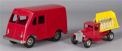 Reproduction Metalcraft Coca-Cola delivery truck