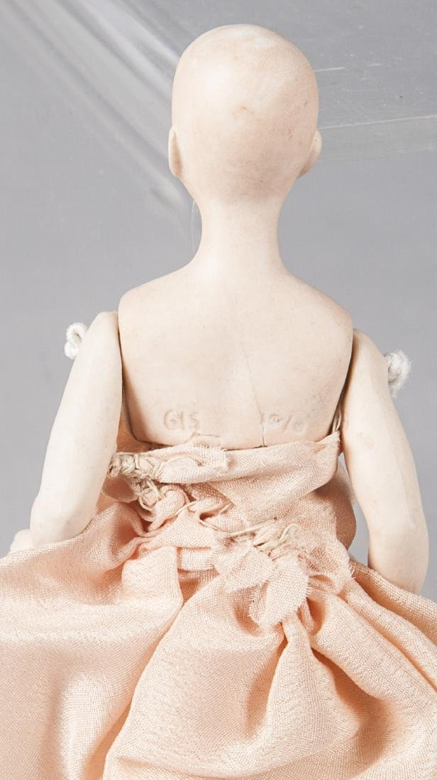 Bisque solid dome doll - 2