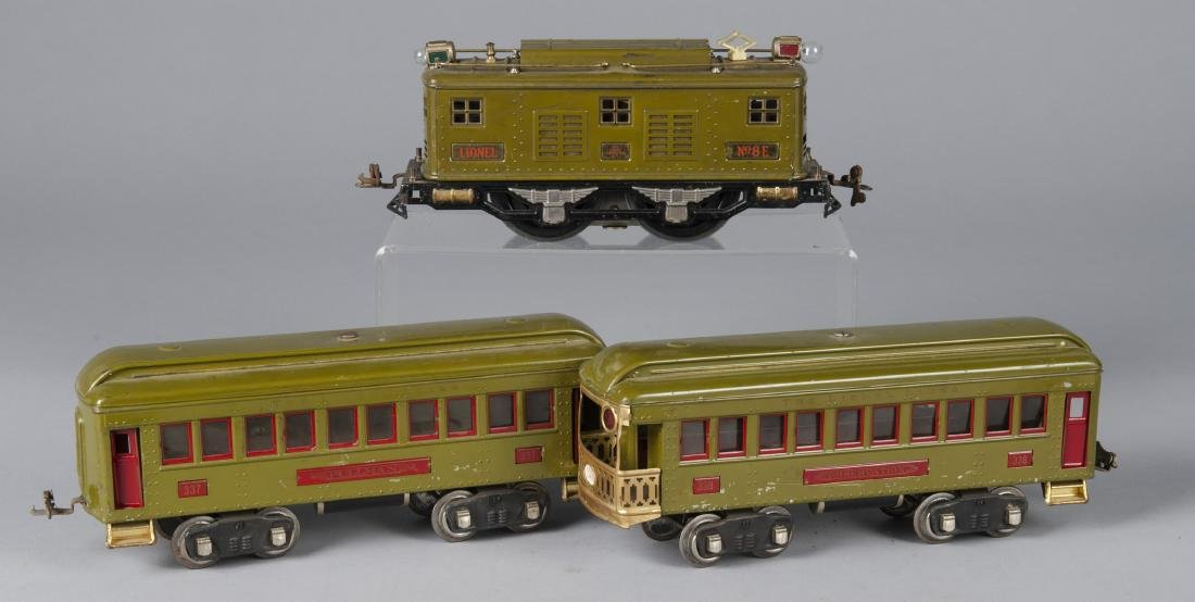 Lionel three-piece train set - 2