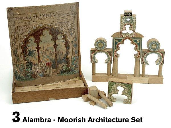 3: Alambra - Moorish Architecture Set