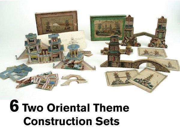 6: Two Oriental Theme Construction Sets