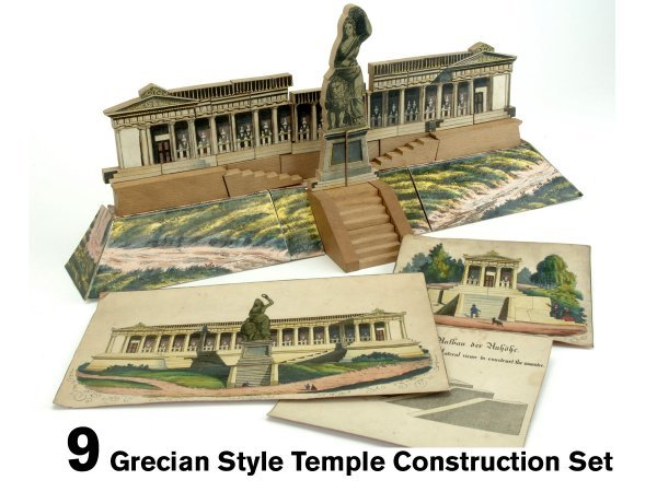 9: Grecian Style Temple Construction Set