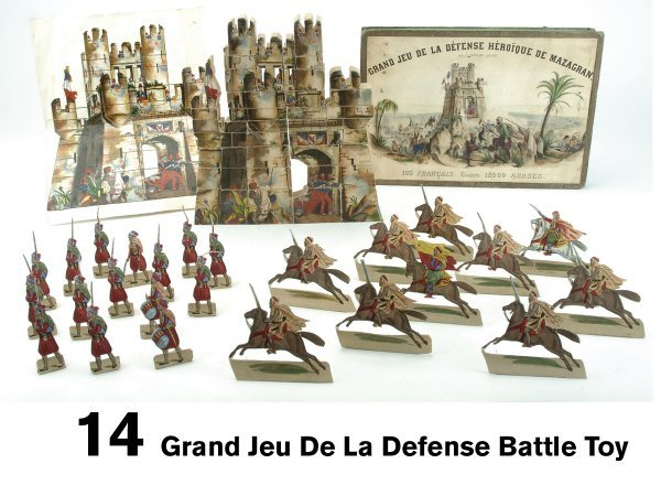 14: Grand Jeu De La Defense Battle Toy