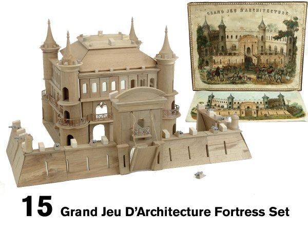 15: Grand Jeu D'Architecture Fortress Set