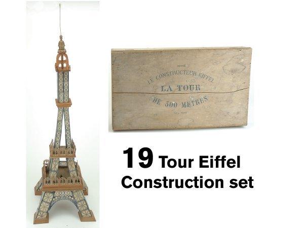 19: Tour Eiffel Construction set