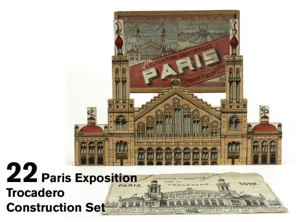 22: Paris Exposition Trocadero Construction Set