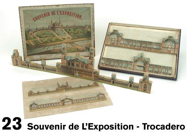 23: Souvenir de L'Exposition - Trocadero