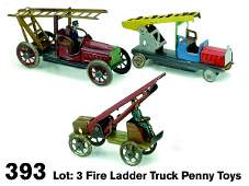 393 Fire Ladder Truck Penny Toys