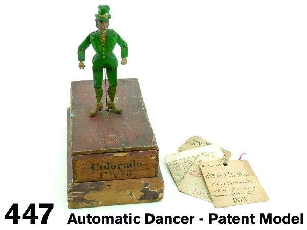 447: Automatic Dancer - Patent Model