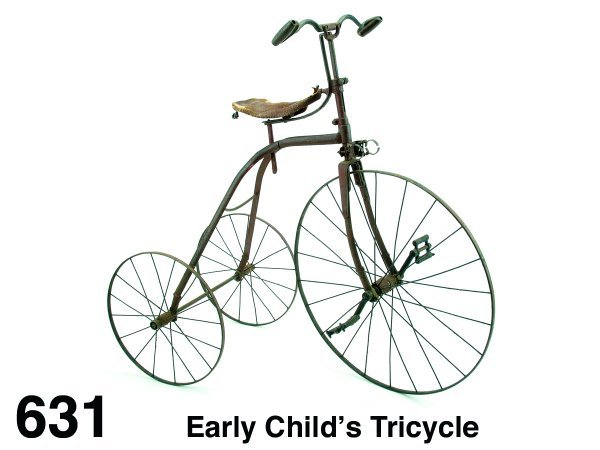 631: Early Child's Tricycle