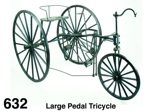 632: Large Pedal Tricycle