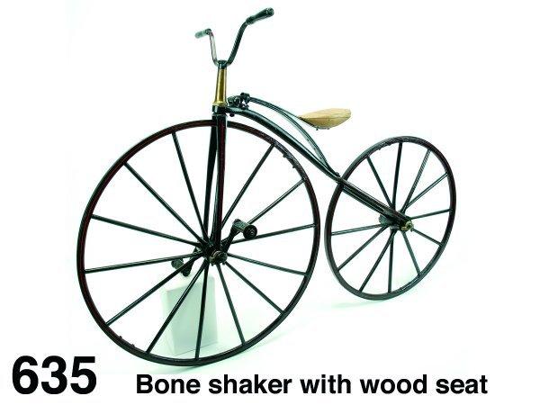 635: Bone shaker with wood seat