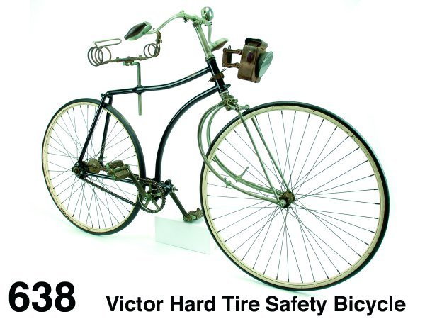 638: Victor Hard Tire Safety Bicycle