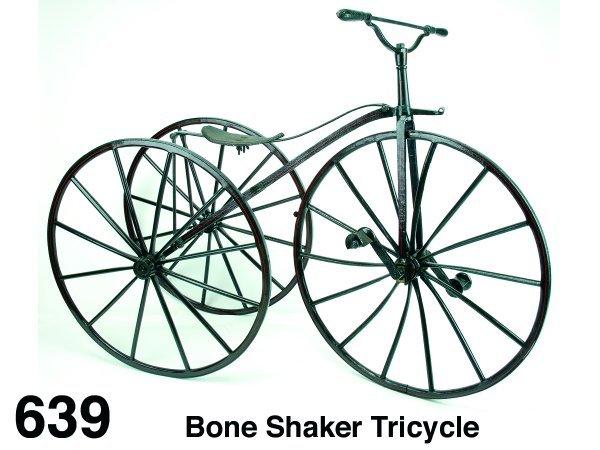 639: Bone Shaker Tricycle
