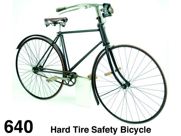 640: Hard Tire Safety Bicycle