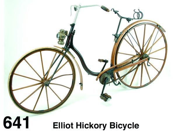 641: Elliot Hickory Bicycle
