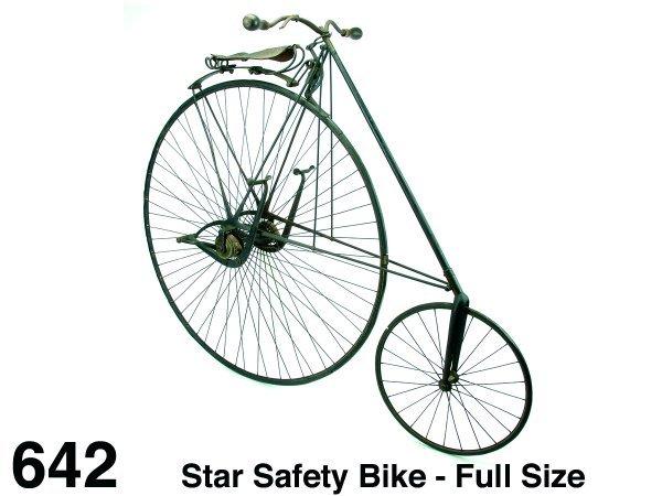 642: Star Safety Bike - Full Size