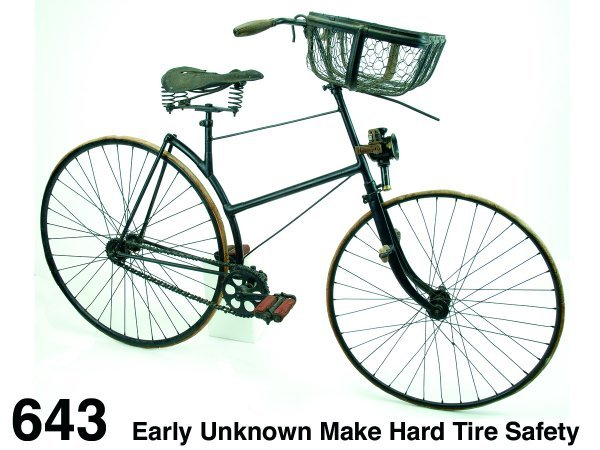 643: Early Unknown Make Hard Tire Safety