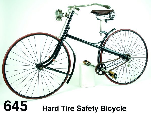 645: Hard Tire Safety Bicycle