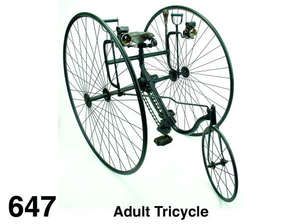 647: Adult Tricycle