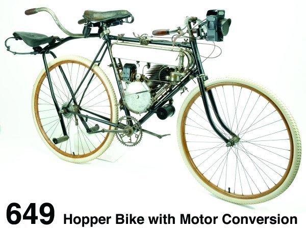 649: Hopper Bike with Motor Conversion