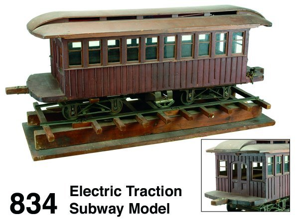 834: Electric Traction Subway Model