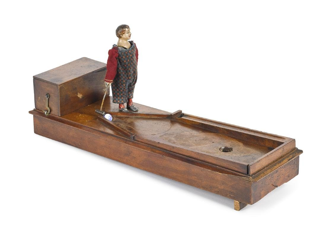 American clockwork ball and mallet player - 2