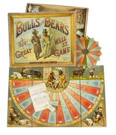 McLoughlin Bros. Bulls and Bears Wall Street Game