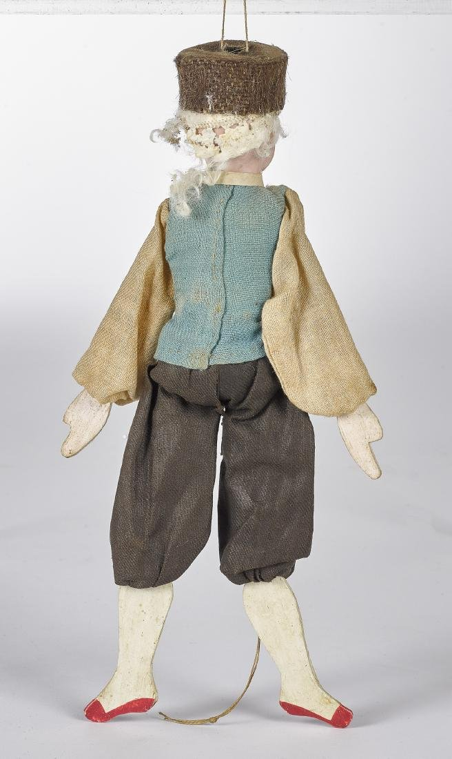 Bisque head jumping jack doll - 2