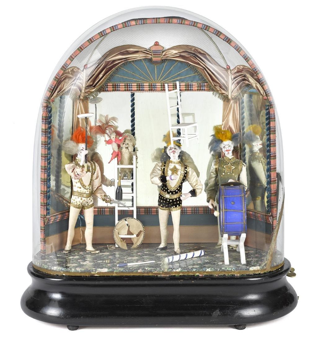 Phalibois performing clowns musical automaton