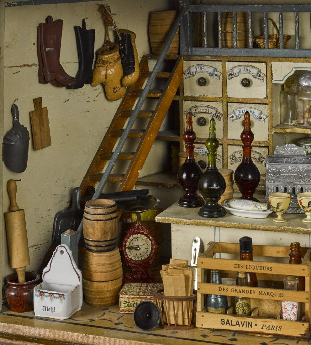 Dry goods and grocery store room box - 2