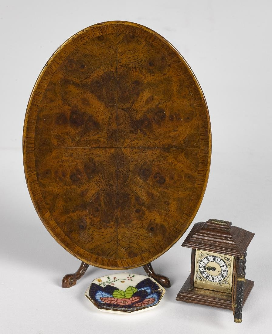 John Hodgson parlor table and accessories - 2