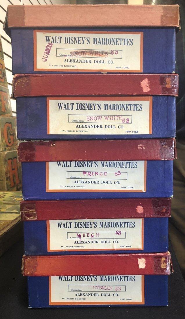 Madame Alexander Walt Disney marionette set - 3