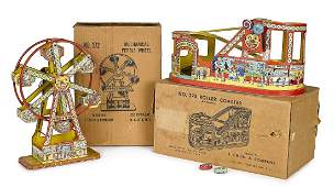 Two Chein lithograph tin windup toys