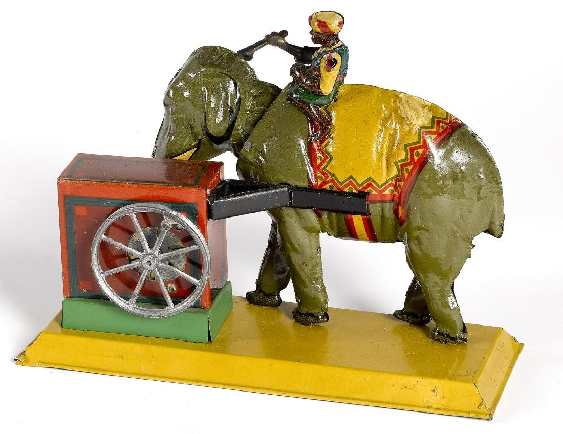 Eberl Indian elephant steam toy accessory - 2