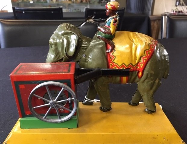 Eberl Indian elephant steam toy accessory - 3