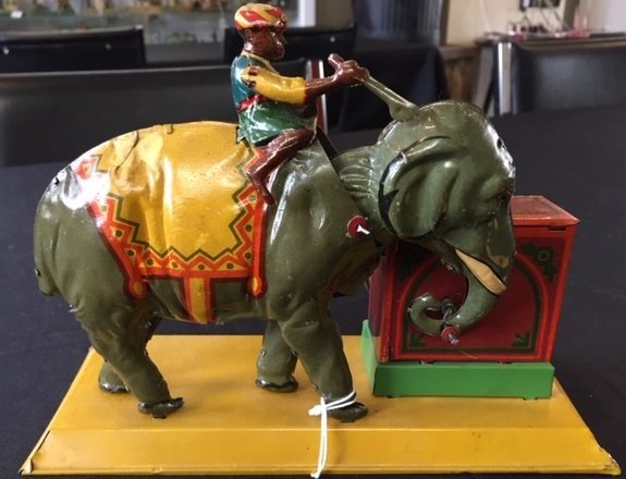 Eberl Indian elephant steam toy accessory - 4
