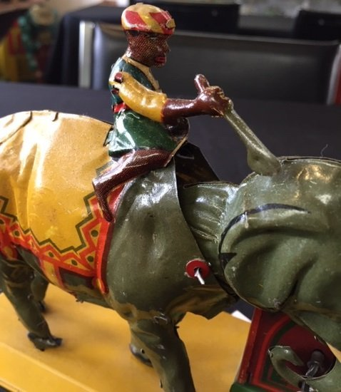 Eberl Indian elephant steam toy accessory - 5