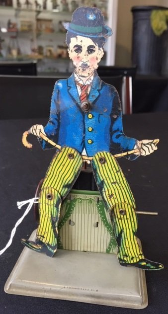 Wilhelm Krauss Charlie Chaplin slate dancer - 4