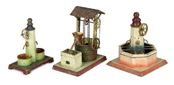 Three Doll & Cie wishing well steam toy accessories