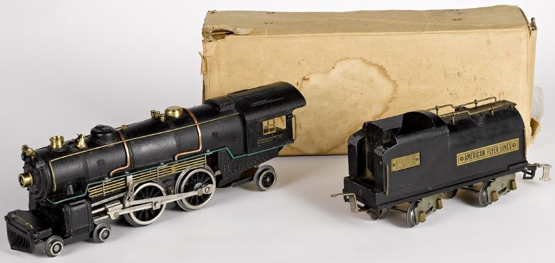 American Flyer #4695 train locomotive and tender - 2