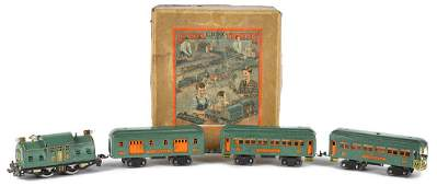 Lionel fourpiece train set