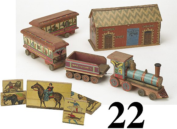 22: Empire State Express Circus Train & Station