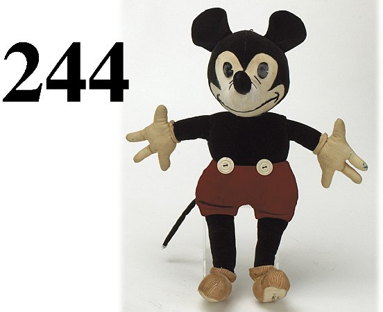 244: Charlotte Clark Mickey Mouse Doll