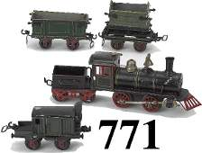771: Marklin 0 Gauge 0-4-0 Freight Set