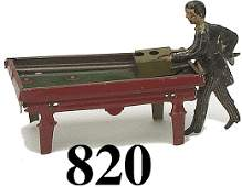 820 Kellerman Penny Toy Pool Player