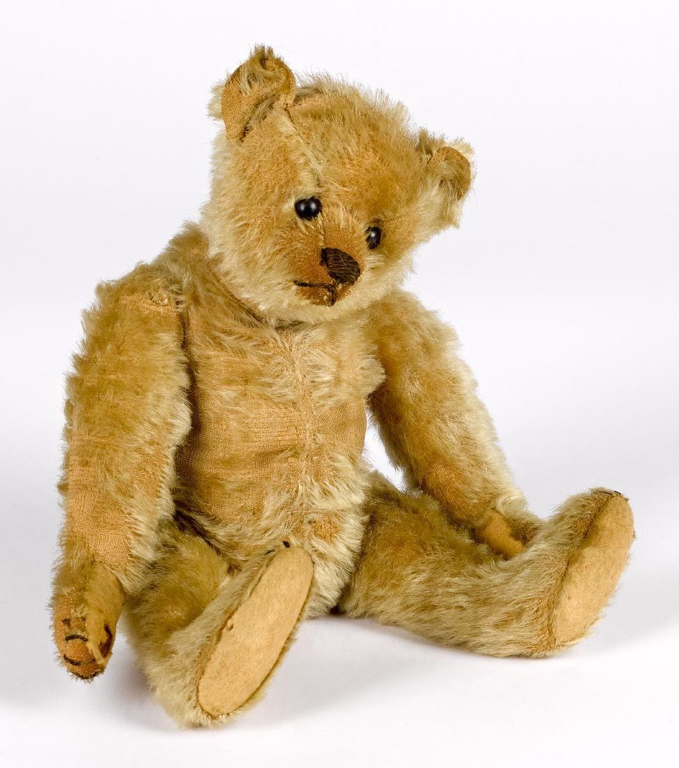 Early Steiff mohair teddy bear
