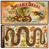 McLoughlin Bros. The Game of the Sociable Snake