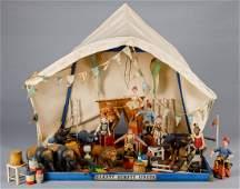 Schoenhut Humpty Dumpty Circus tent