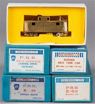 8206: LGB 30420 Zillertal Bier Car Train